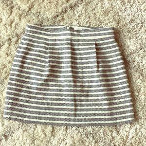 J. Crew Striped Mini Skirt!